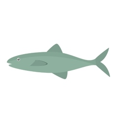 Salmon fish sea food fresh vector