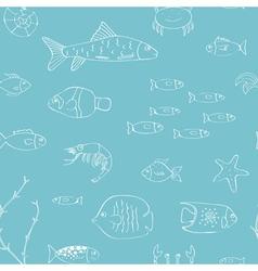 Underwater life vector image vector image
