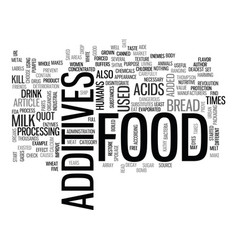 what s that in my food text word cloud concept vector image vector image