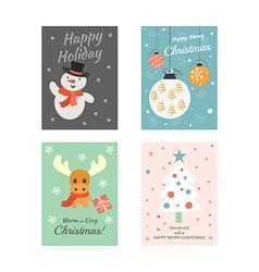 Christmas cards 2 vector