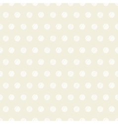 Vintage polka dots set of four seamless patterns vector