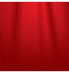 red fabric vector image
