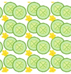Cucumber seamless vector