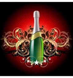 Champagne celebratory vector