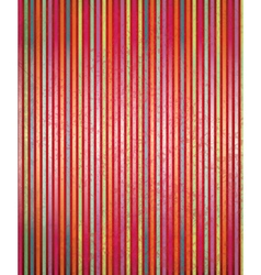 red striped vector image