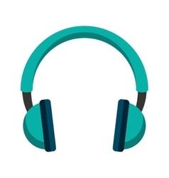 headset speaker audio icon vector image