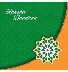 Raksha bandhan celebration background vector