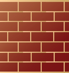 Brick modern wall pattern vector