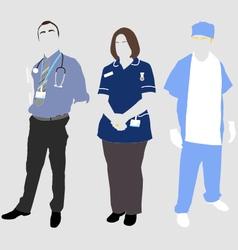 UK Hospital vector image