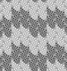 Monochrome pattern with light and dark gray dot vector
