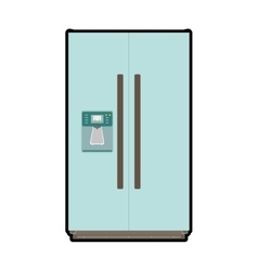 Fridge icon kitchen and cooking design vector