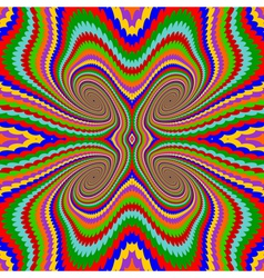 Design multicolor twirl rotation background vector