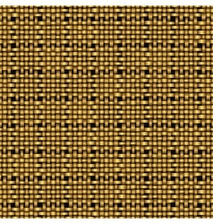 Golden weave seamless background vector