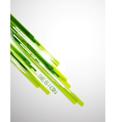 Green straight lines background vector image vector image