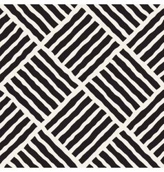 Seamless diagonal lines grid pattern vector