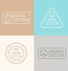 set of labels badges and design elements for vector image