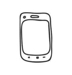 Smartphone icon communication design vector