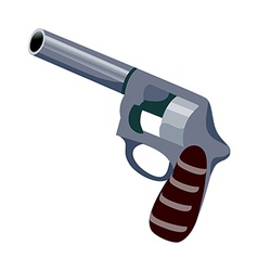 Icon pistol vector