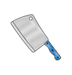 Cleaver icon image vector