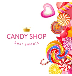 Candy shop2 vector