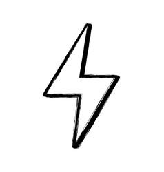 Figure energy hazard symbol design image vector