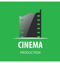 Logo cinema vector