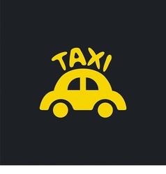 Logo for taxi company vector