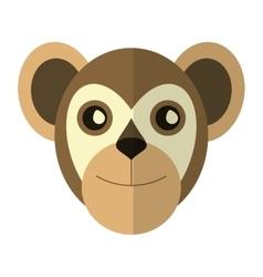 Breasted capuchin primate brazil fauna vector