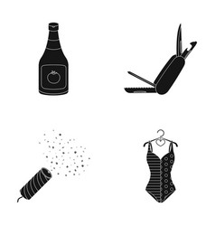 Cooking holiday and other web icon in black style vector