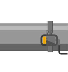 industrial pipeline cartoon vector image
