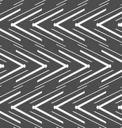 Monochrome pattern with striped white slim and vector