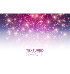 Abstract textured background glitter dust vector