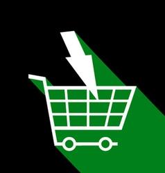 Market buy symbol vector