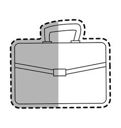 Briefcase accessory icon vector