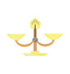 scales libra icon silhouette symbol negative vector image