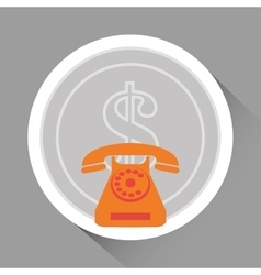 Phone icon design vector