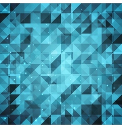 Abstract sparkling geometric background vector image