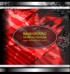 background red texture vector image