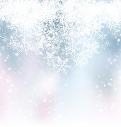 Blue Winter Backdrop vector image vector image