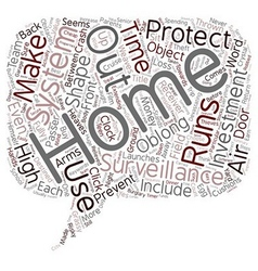 Home surveillance systems investments that protect vector