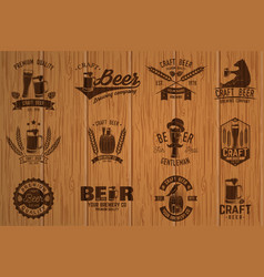 vintage design for bar pub and restaurant vector image vector image