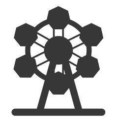 Ferris wheel icon icon vector