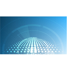 Abstract technological global signal background vector