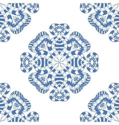 Seamless blue pattern vector