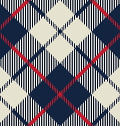 blue and beige fabric texture diagonal pattern vector image vector image