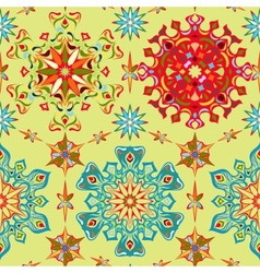 Abstract bright seamless pattern vector image
