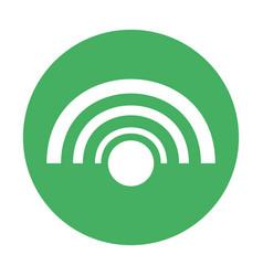 Wifi internet symbol vector