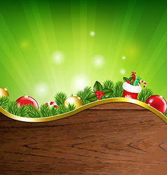 Happy xmas banner vector