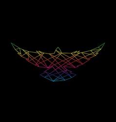 Bird abstract vector image