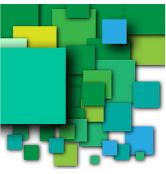 colorful empty squares vector image vector image